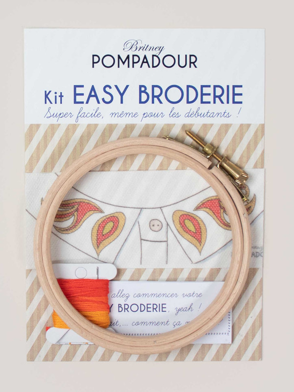 Kit to embroider on collars - Flame