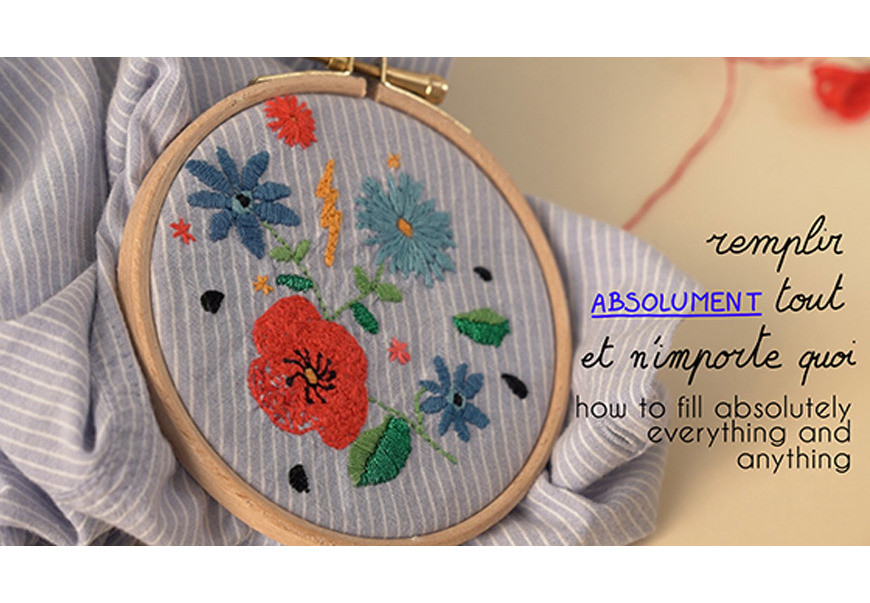 How to embroider absolutely everything and anything (oh yeah!) - Britney Pompadour